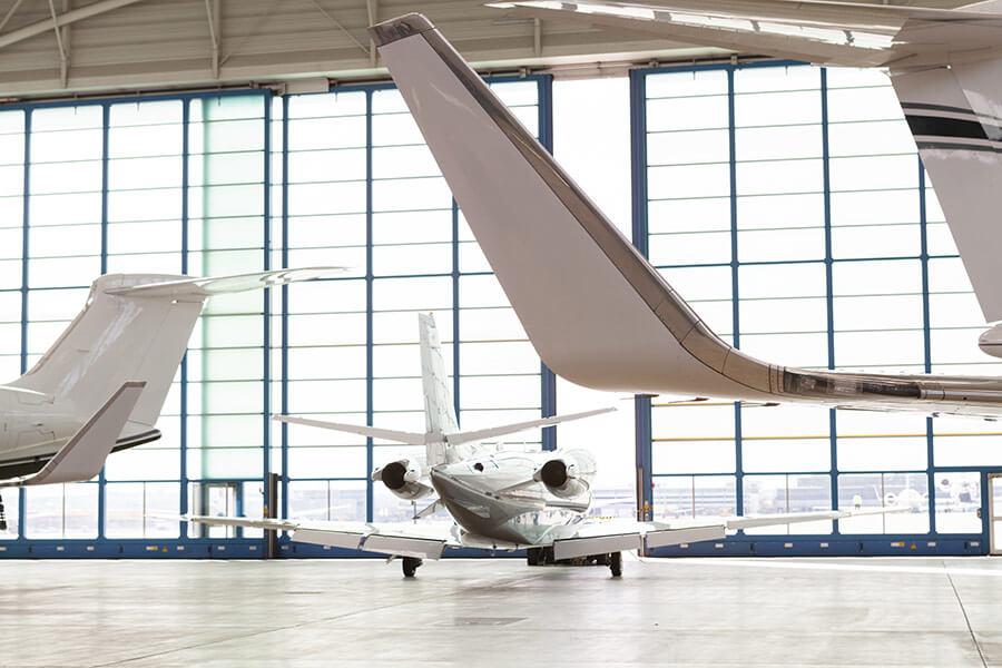 Small Passenger Air plane