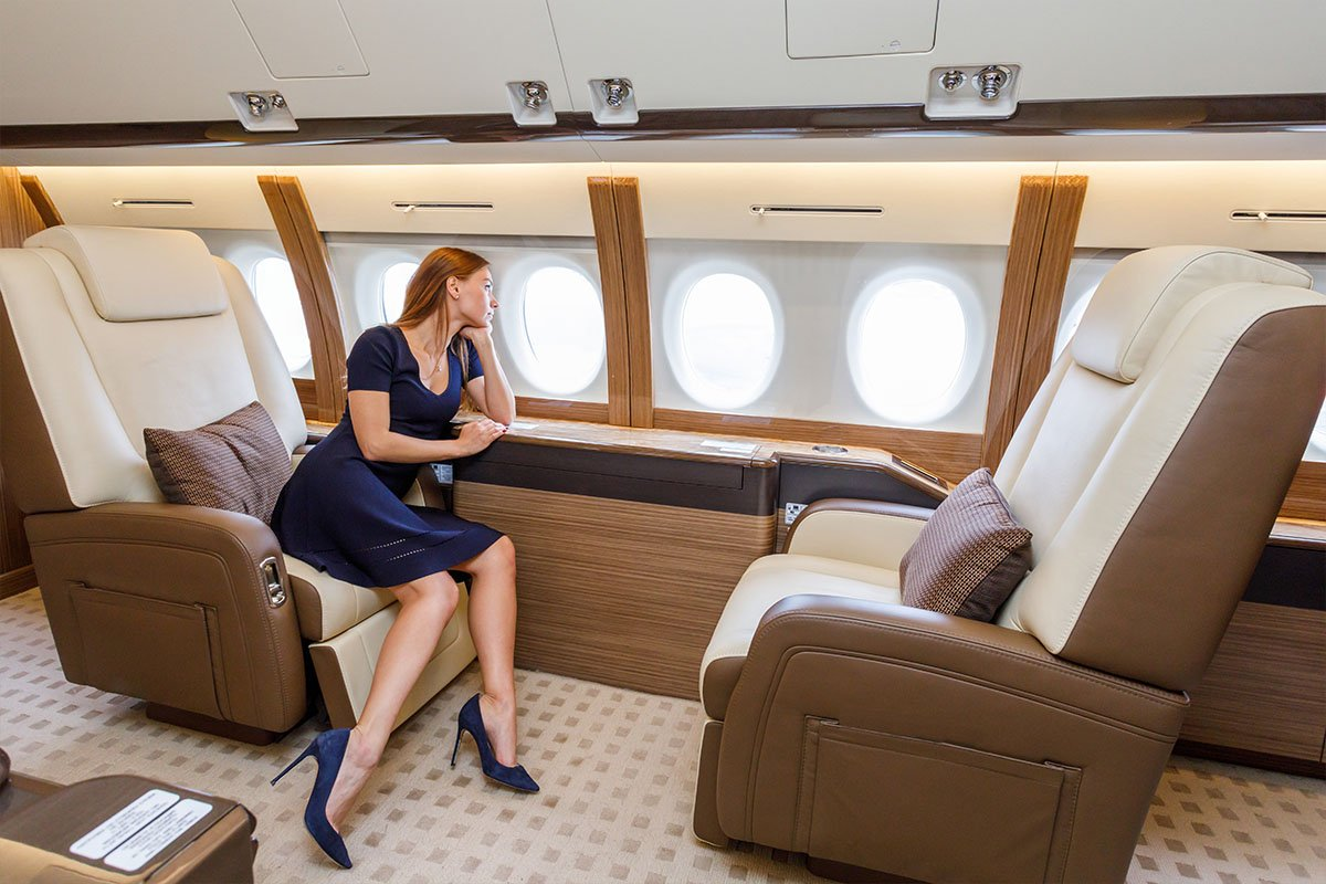 Private Large Jet VIP Airliner