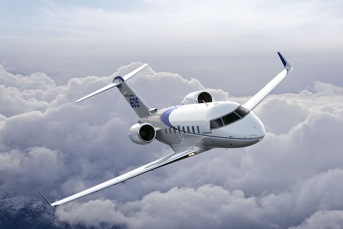 Challenger 604 Private Charter Flight