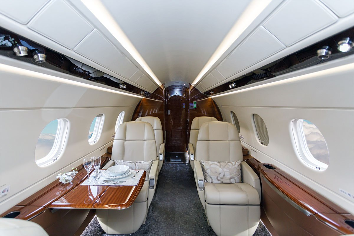 Cessna Citation II interior