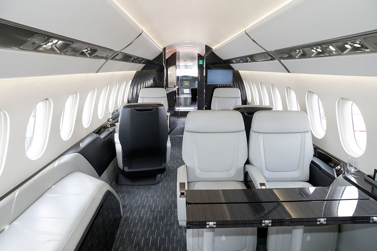 Dassault Falcon-2000 Jets