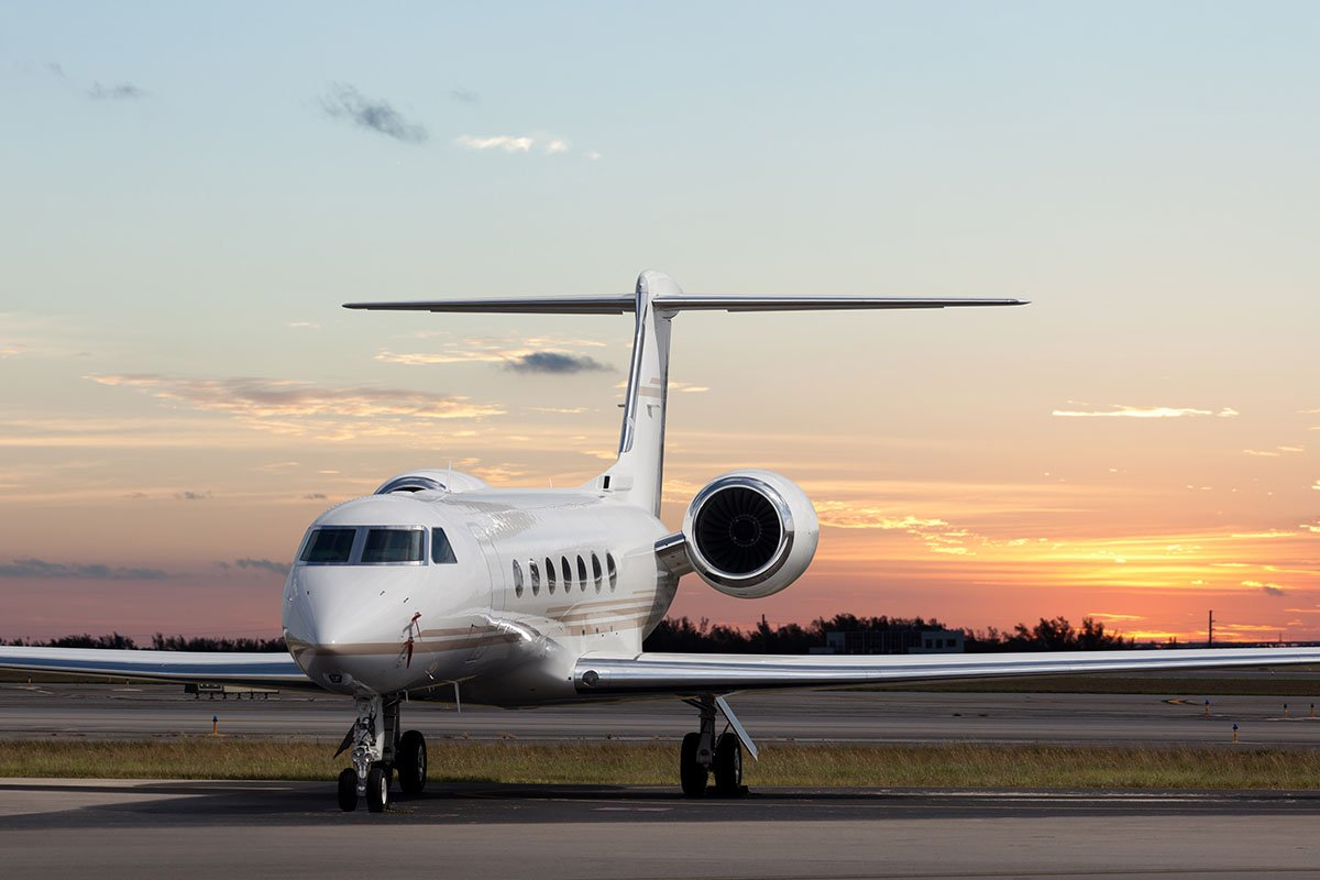 Private Heavy Jet Gulfstream G450