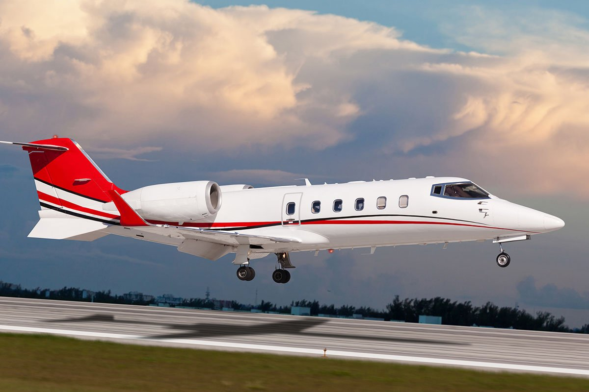 Learjet-31-40 XR Light Jet