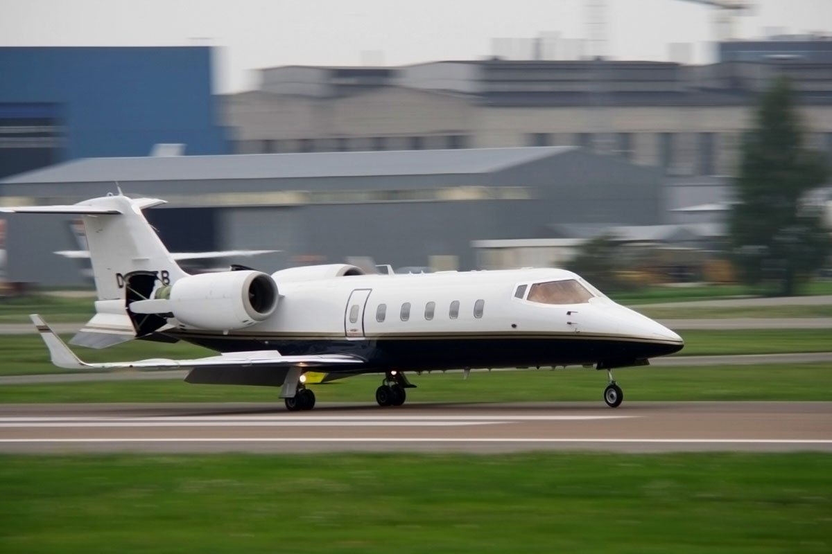 Learjet-55-60 Medium Jet