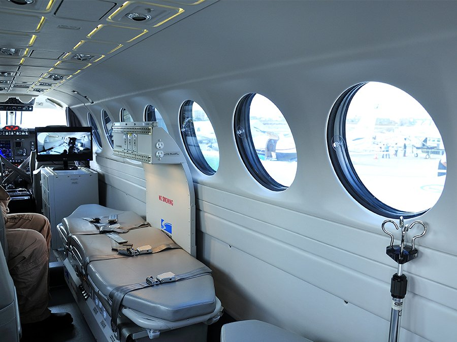 Medical Air Ambulance on Private Air Charter