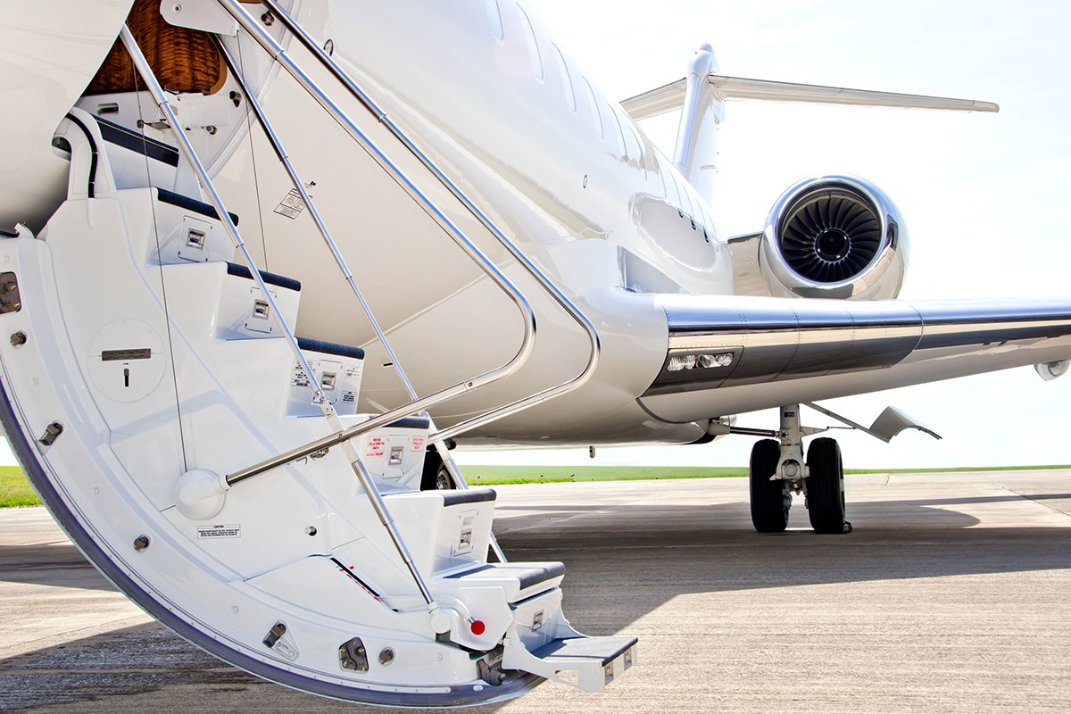 Private Flight Jet