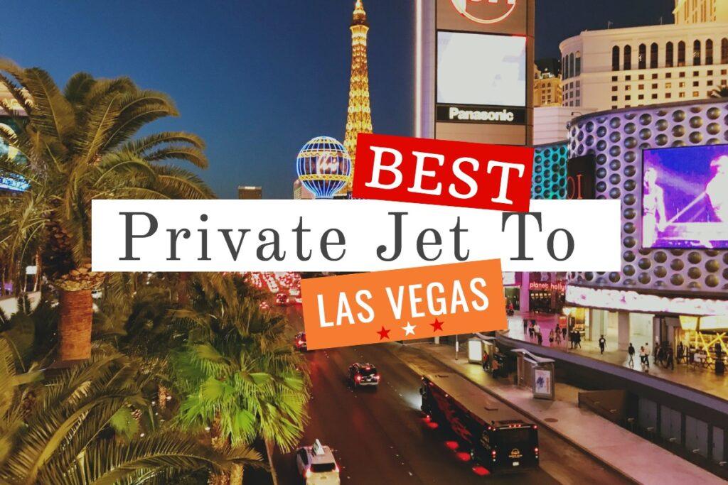 private jet to vegas