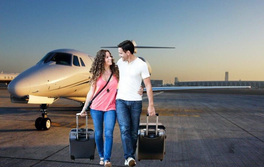 airtaxi passengers